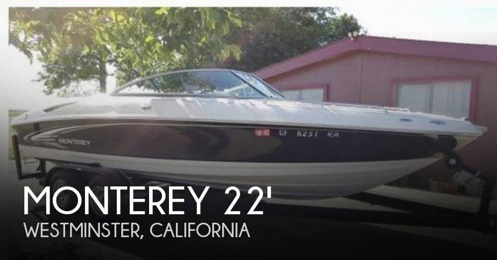 Used Monterey Boats For Sale in California by owner | 2004 Monterey 22