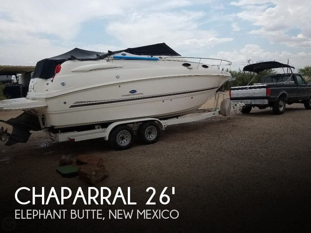Used Boats For Sale in New Mexico by owner | 2005 Chaparral 26