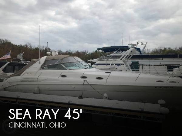 Used Boats For Sale in Dayton, Ohio by owner | 1997 Sea Ray 450 Sundancer