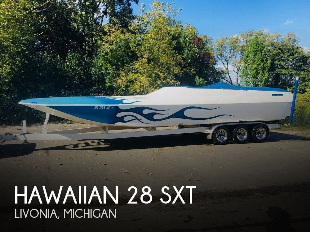 Used Hawaiian Boats For Sale in Michigan by owner | 2002 Hawaiian 28