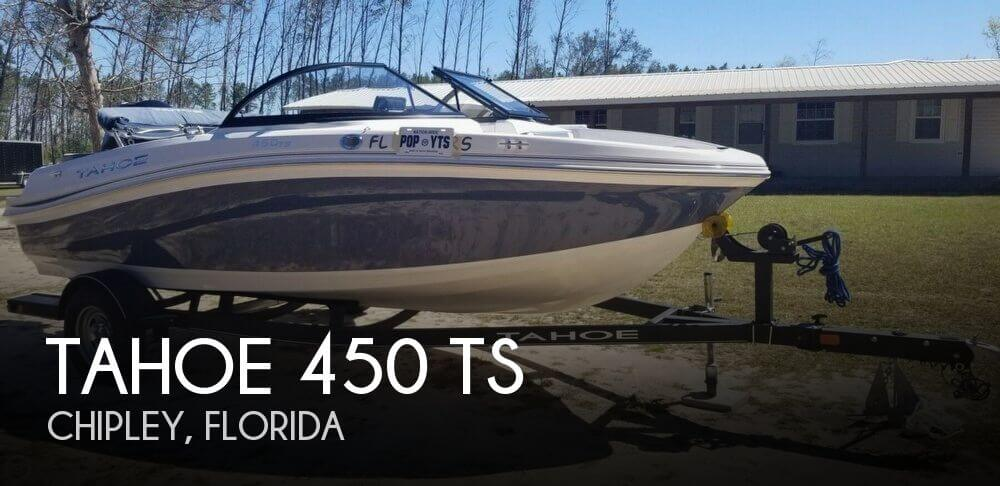 2018 Tahoe boat for sale, model of the boat is 450 TS & Image # 1 of 40