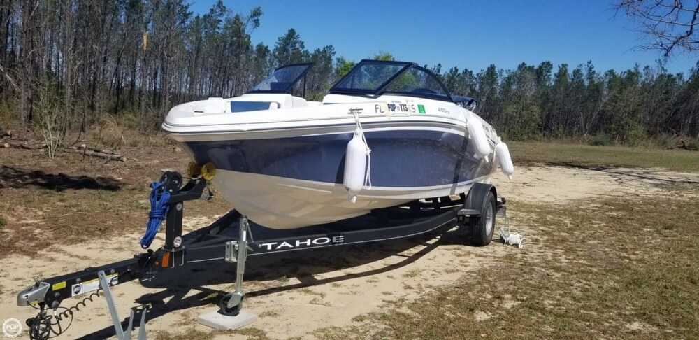 2018 Tahoe boat for sale, model of the boat is 450 TS & Image # 2 of 40
