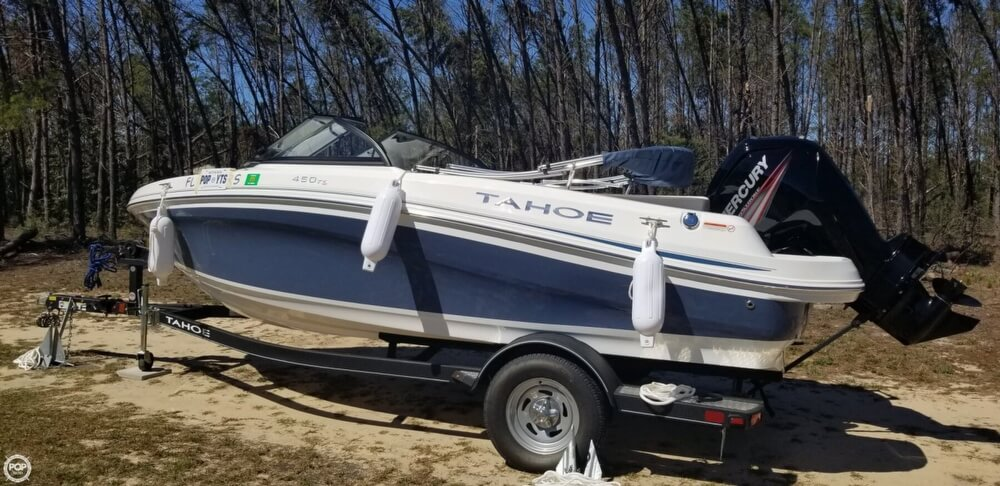 2018 Tahoe boat for sale, model of the boat is 450 TS & Image # 3 of 40
