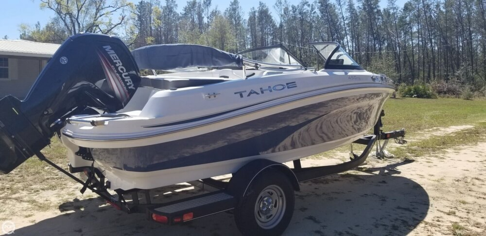 2018 Tahoe boat for sale, model of the boat is 450 TS & Image # 6 of 40