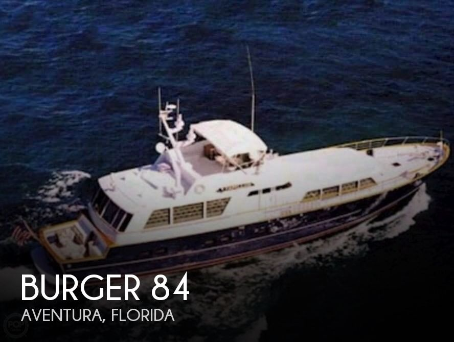 Used Motoryachts For Sale by owner | 1980 Burger 84