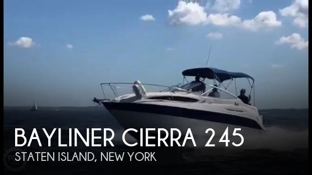 Used Bayliner Boats For Sale in Philadelphia, Pennsylvania by owner | 2006 Bayliner Cierra 245