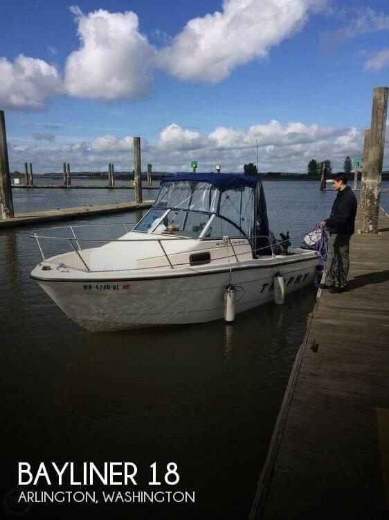Used Bayliner 18 Boats For Sale by owner | 1999 Bayliner 18