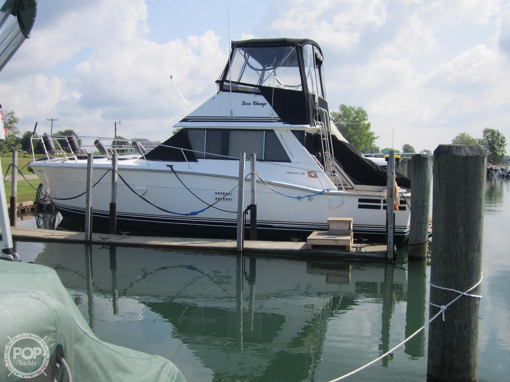 1980 Trojan boat for sale, model of the boat is 36 Convertible & Image # 14 of 40