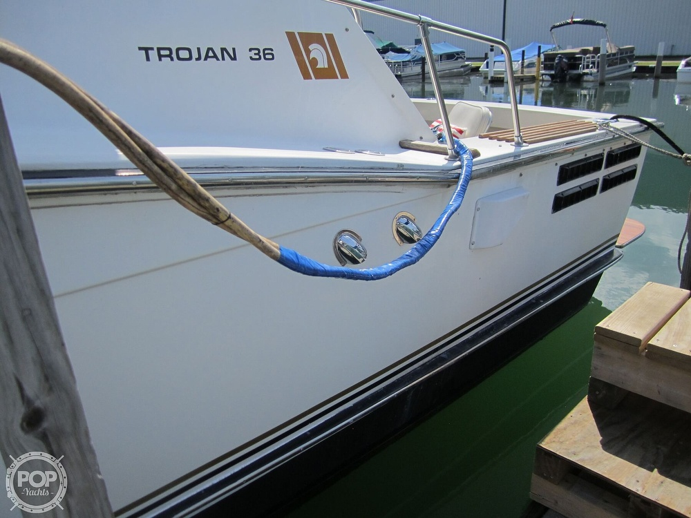 1980 Trojan boat for sale, model of the boat is 36 Convertible & Image # 23 of 40