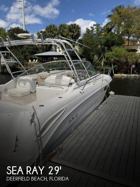 Used Sea Ray 29 Boats For Sale by owner | 2001 Sea Ray 29