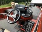 GPS/ Fishfinder/ Plotter, Hot Shot Foot Pedal, Steering Wheel