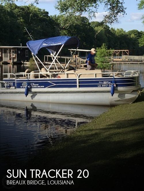 Used SunTracker Pontoon Boats For Sale by owner | 2017 Sun Tracker 20