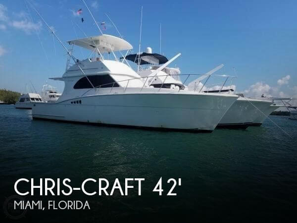 Used Fishing boats For Sale in Florida by owner | 1986 Chris-Craft 42