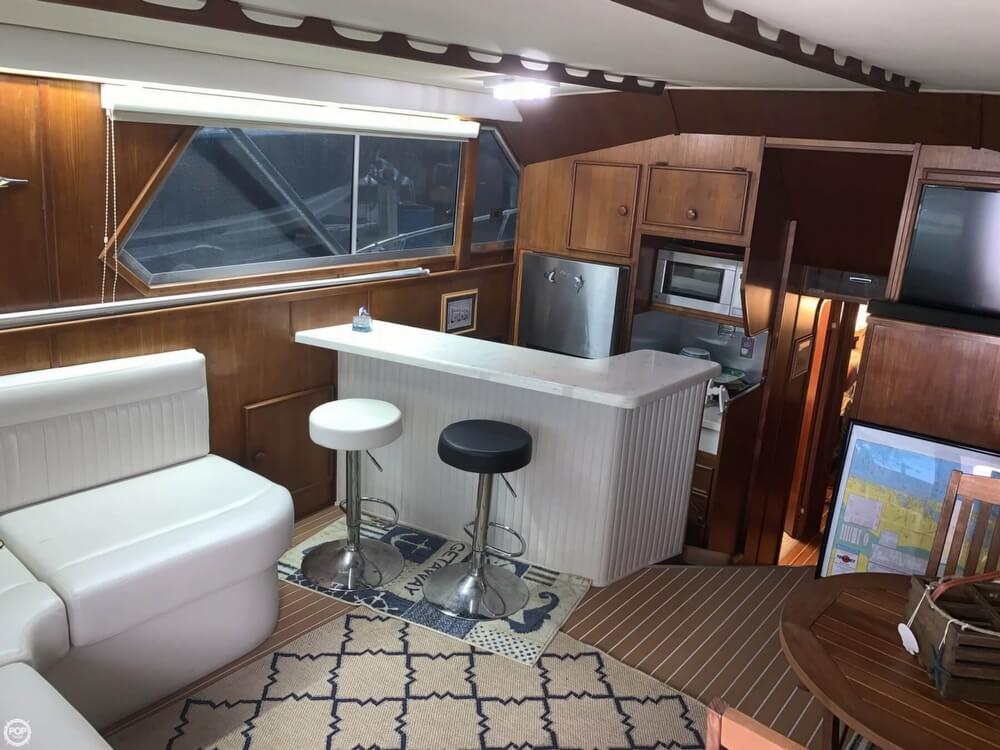 1986 Chris Craft boat for sale, model of the boat is 422 Commander & Image # 4 of 40