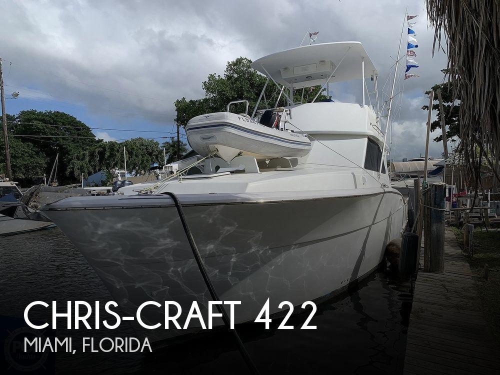 1986 CHRIS CRAFT 422 COMMANDER for sale