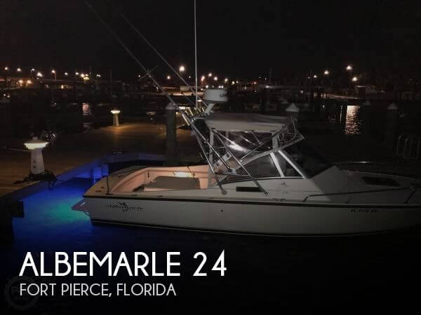 Used Albemarle Boats For Sale by owner | 1998 Albemarle 24