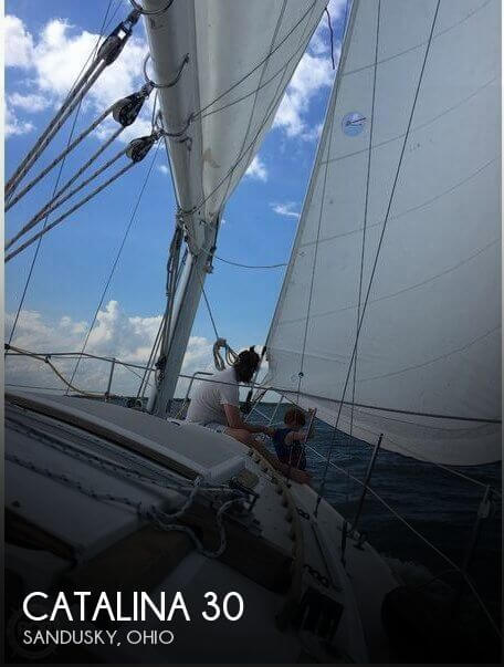 Used Sailboats For Sale in Ohio by owner   1981 Catalina 30
