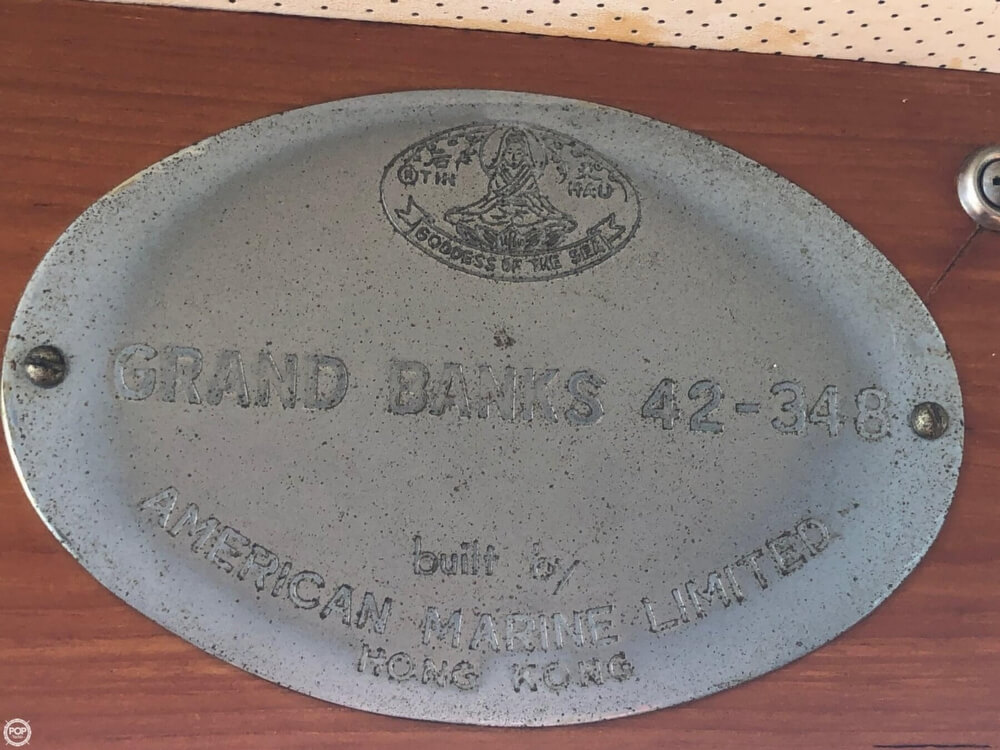 1973 Grand Banks boat for sale, model of the boat is 42 & Image # 30 of 41