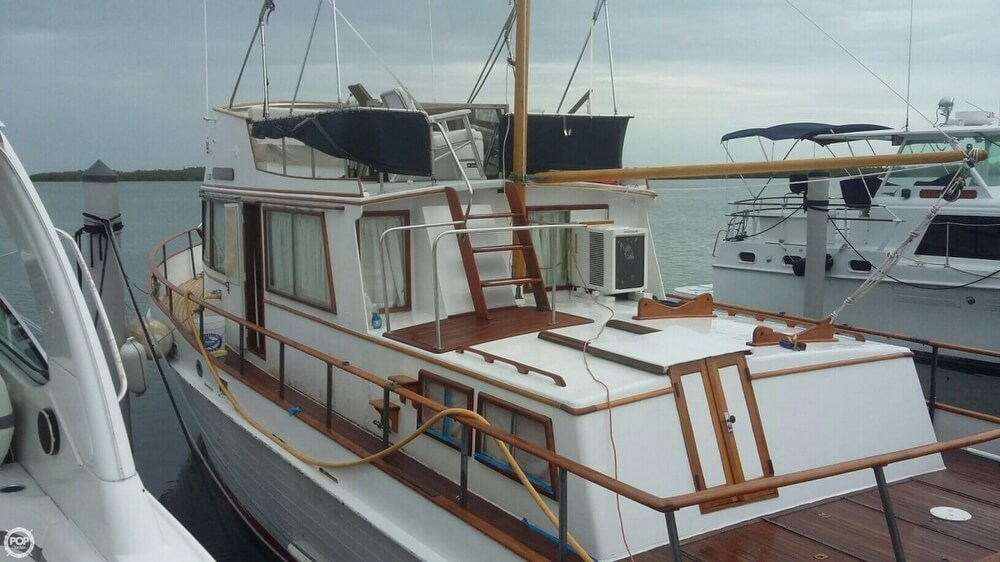 1973 Grand Banks boat for sale, model of the boat is 42 & Image # 2 of 41