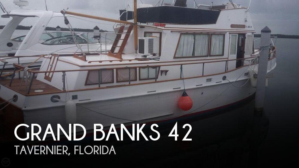 1973 Grand Banks boat for sale, model of the boat is 42 & Image # 1 of 41