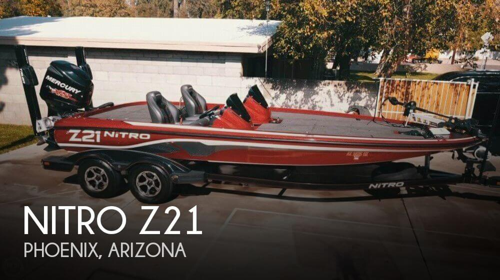Used Boats For Sale in Arizona by owner | 2015 Nitro 21