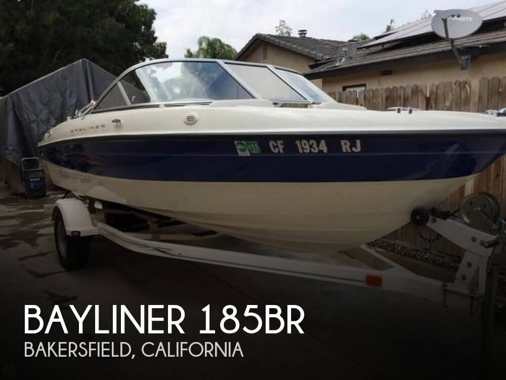 Used Boats For Sale in Visalia, California by owner | 2006 Bayliner 18