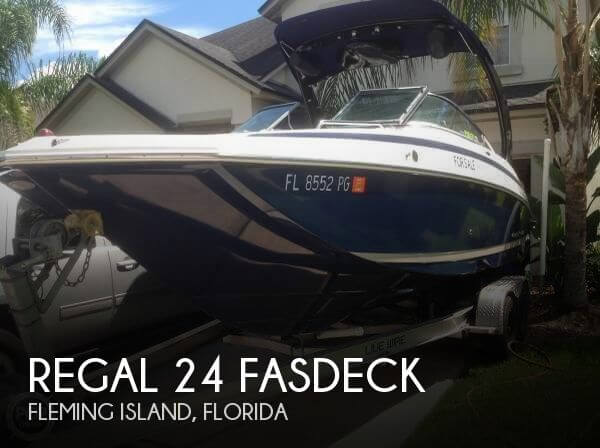 Used Deck Boats For Sale by owner | 2012 Regal 24