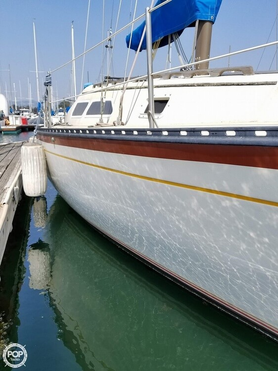 1977 Islander boat for sale, model of the boat is 28 & Image # 6 of 26