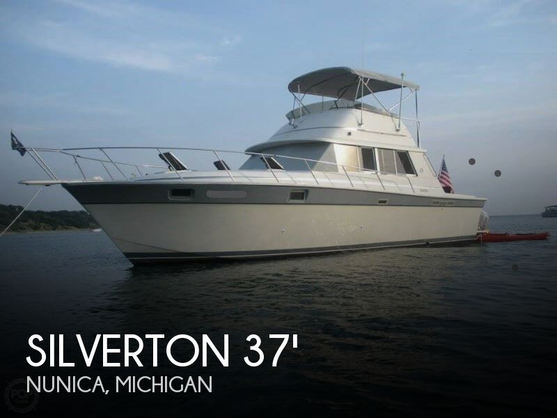 Used Fishing boats For Sale in Michigan by owner | 1986 Silverton 37