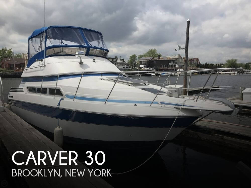 Used Carver Boats For Sale in New York by owner | 1990 Carver 30