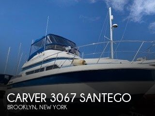 1990 Carver boat for sale, model of the boat is 3067 Santego & Image # 1 of 39