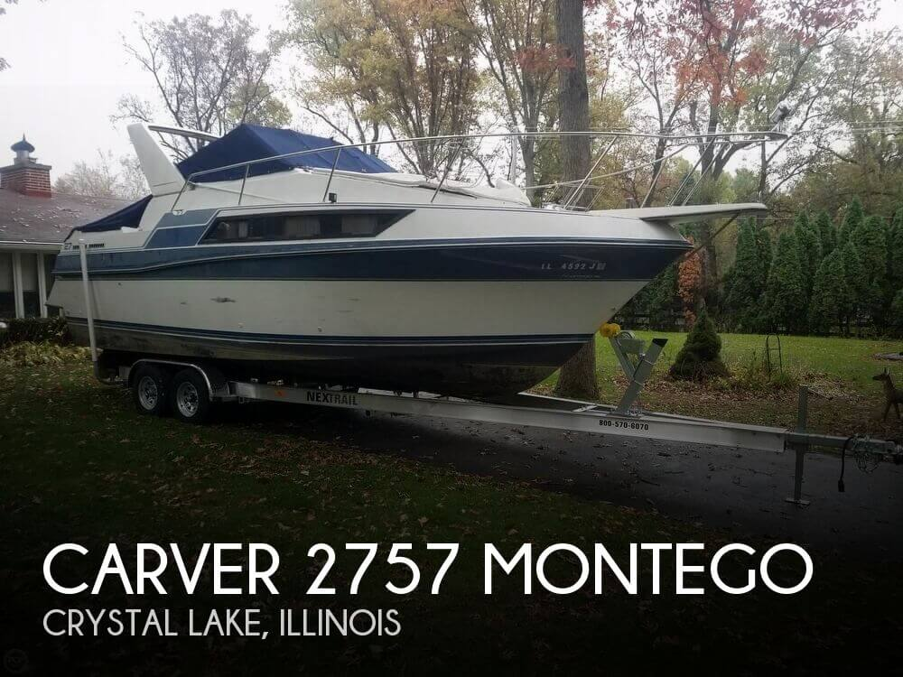 Used Carver 27 Boats For Sale by owner | 1990 Carver 27