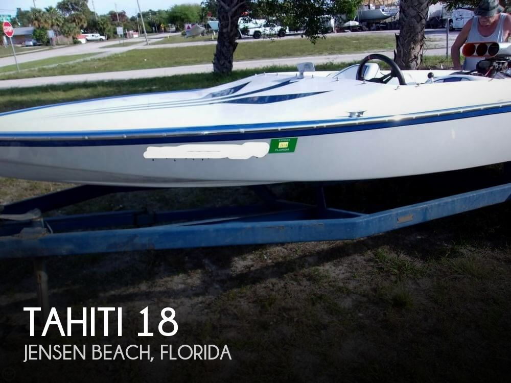 1988 Tahiti boat for sale, model of the boat is 18 & Image # 1 of 40