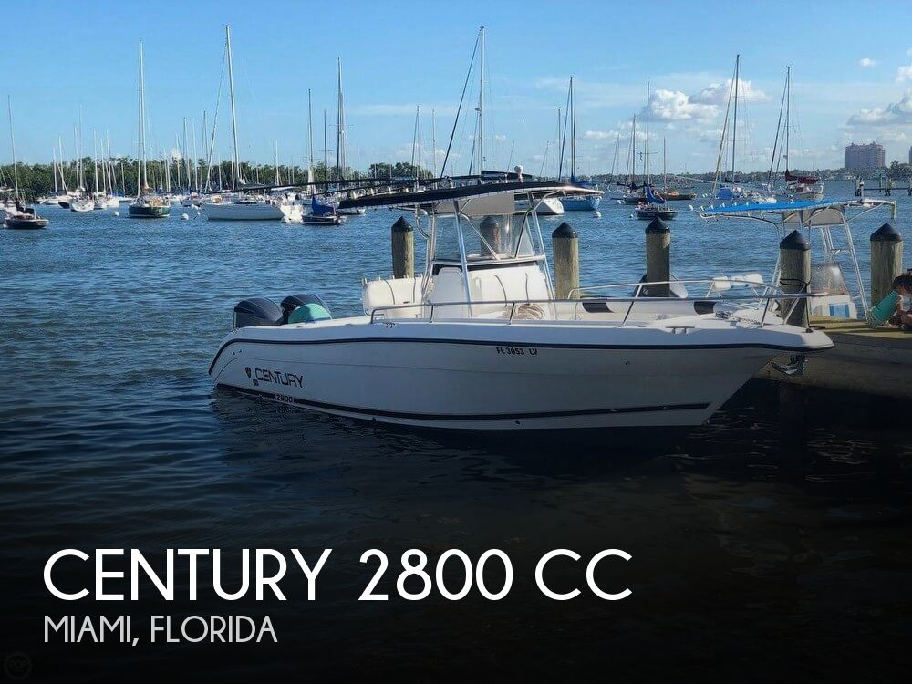 Used Boats For Sale by owner   2000 Century 29