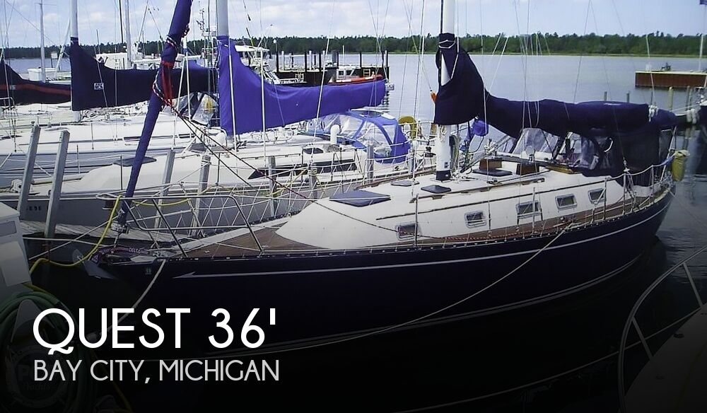 1983 Quest boat for sale, model of the boat is 36 Semi Custom & Image # 1 of 29