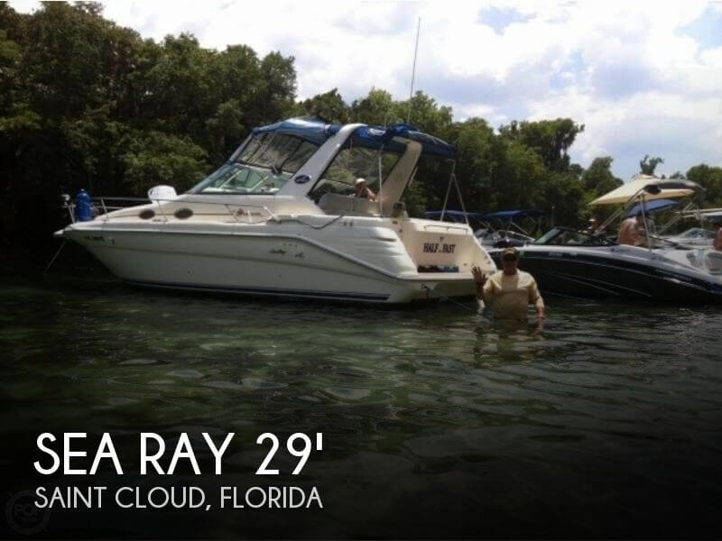 Used Sea Ray 29 Boats For Sale by owner | 1996 Sea Ray 29