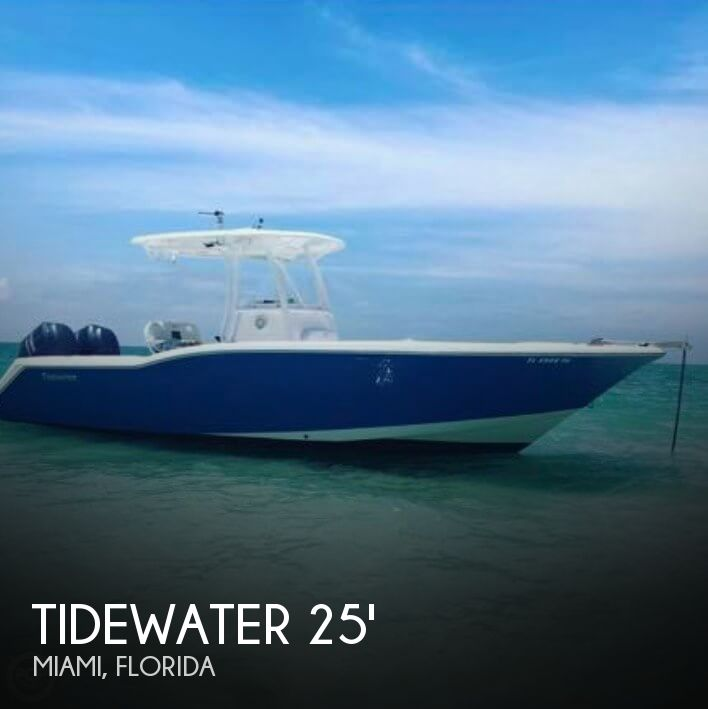 Used Boats For Sale by owner   2014 Tidewater 25