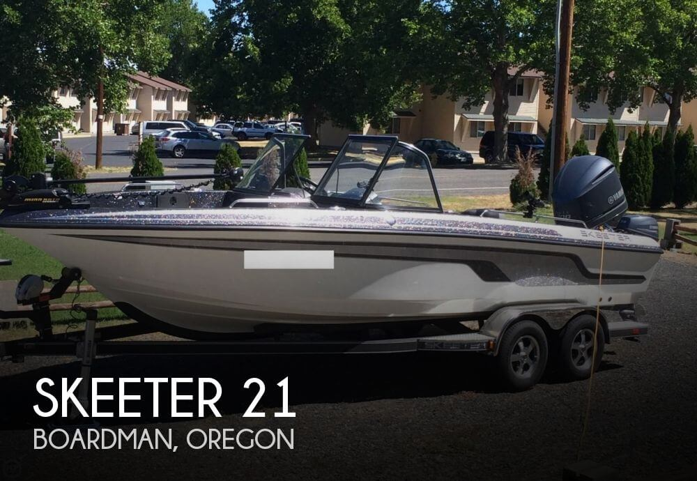 Used Boats For Sale in Kennewick, Washington by owner | 2014 Skeeter 21