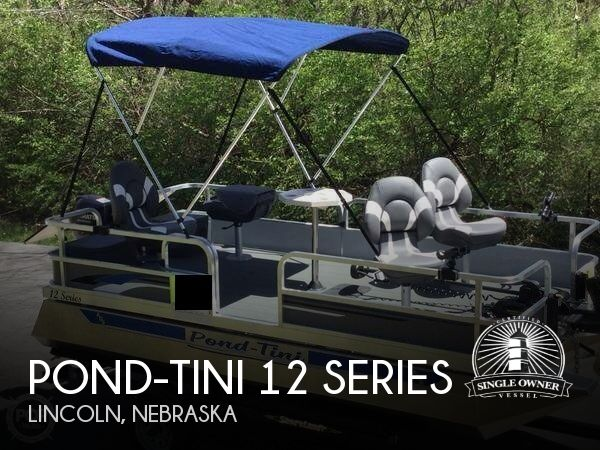 2018 Pond-Tini boat for sale, model of the boat is 12 Series & Image # 1 of 39
