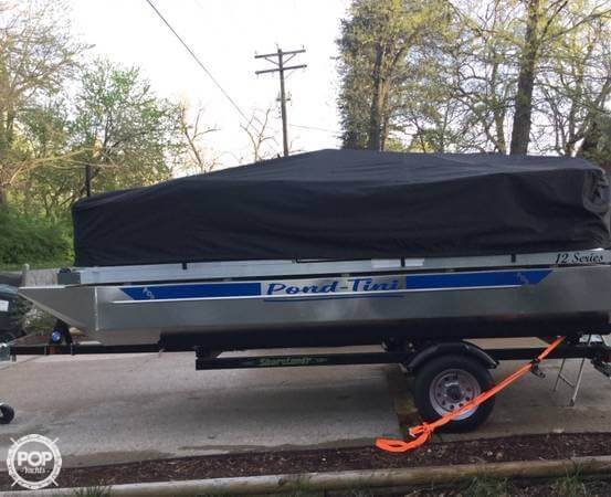 2018 Pond-Tini boat for sale, model of the boat is 12 Series & Image # 2 of 39