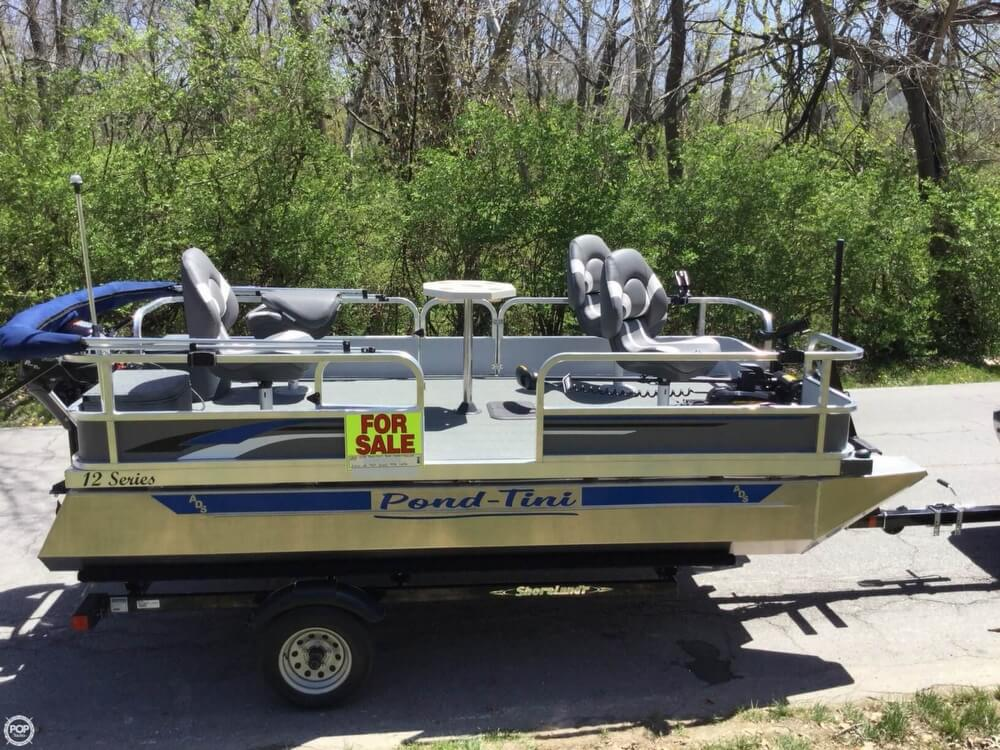 2018 Pond-Tini boat for sale, model of the boat is 12 Series & Image # 23 of 39
