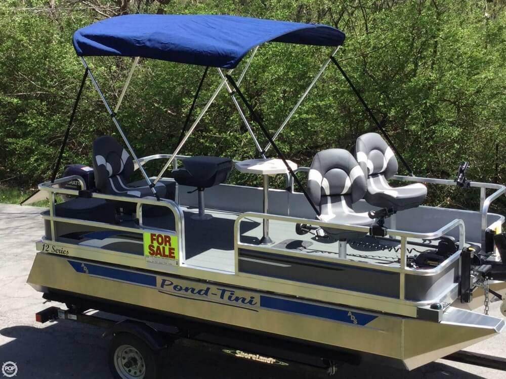 2018 Pond-Tini boat for sale, model of the boat is 12 Series & Image # 25 of 39