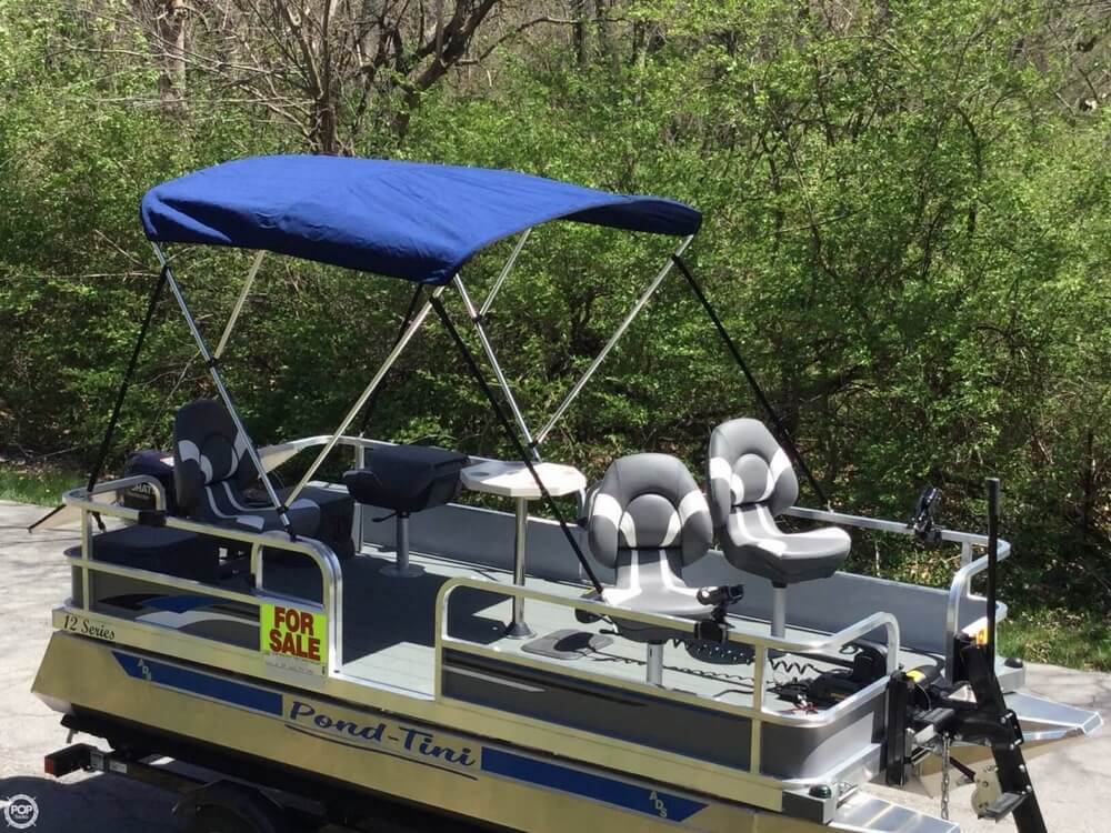2018 Pond-Tini boat for sale, model of the boat is 12 Series & Image # 27 of 39