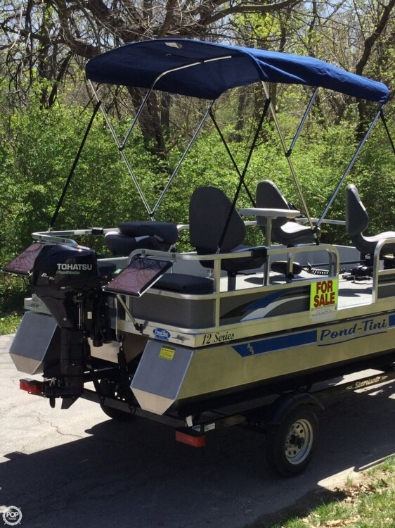 2018 Pond-Tini boat for sale, model of the boat is 12 Series & Image # 30 of 39