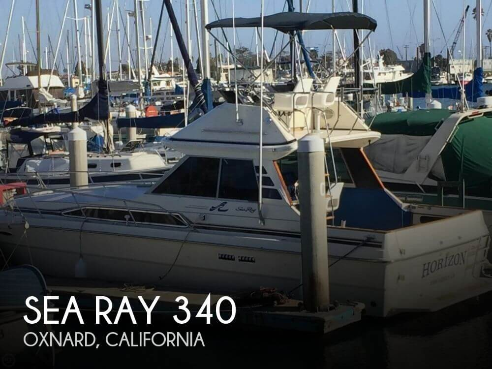 Used Sea Ray Boats For Sale in Oxnard, California by owner | 1987 Sea Ray 34