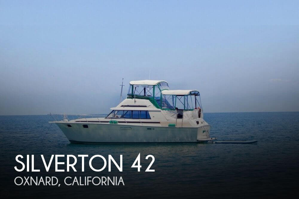 Used Power boats For Sale in Oxnard, California by owner | 1982 Silverton 40