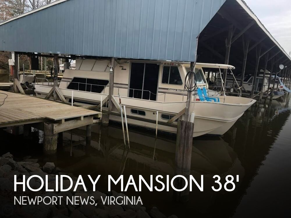 Used Houseboats For Sale by owner | 1989 Holiday Mansion 38