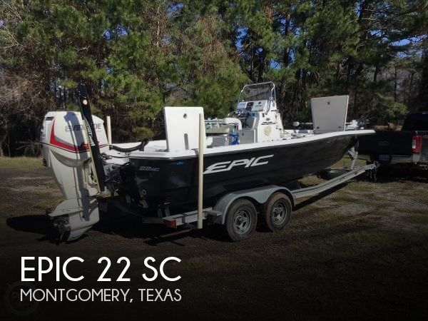 Used Epic Boats For Sale by owner | 2013 Epic 22