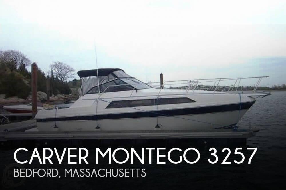 1987 CARVER MONTEGO 3257 for sale