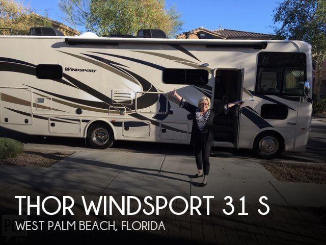 2017 Thor Motor Coach Windsport 31